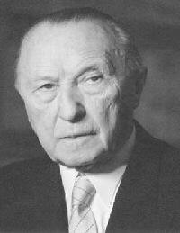 foto von konrad adenauer - Konrad Adenauer Lebenslauf
