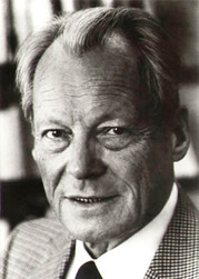 Foto von Willy Brandt